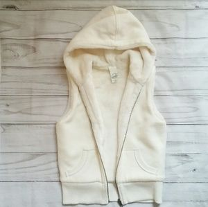 Old Navy hooded zip vest